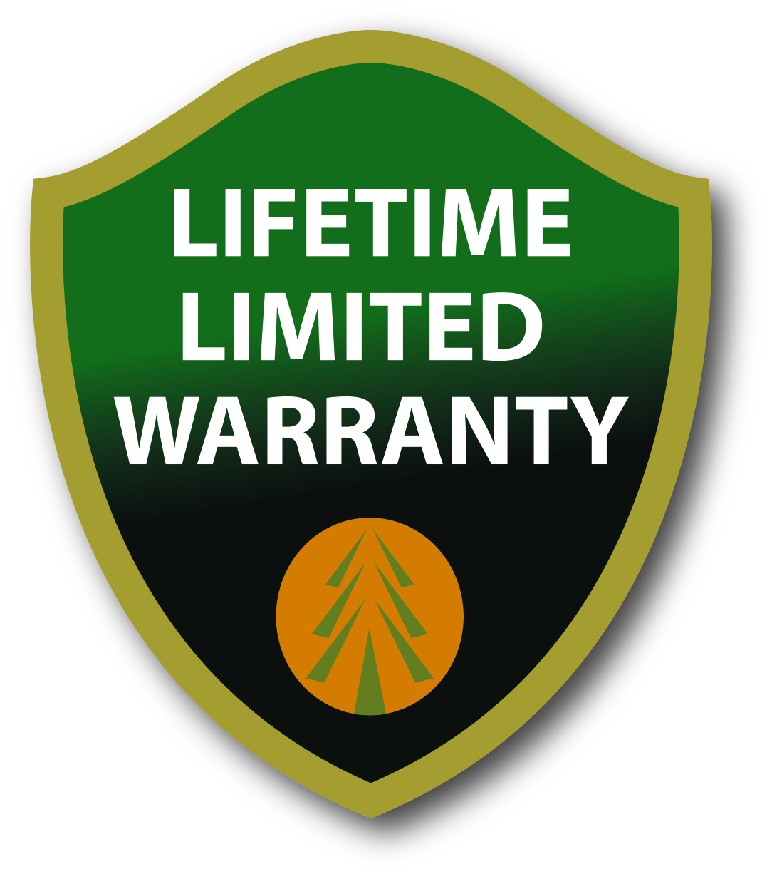 Lifetime Limited Warranty cmyk